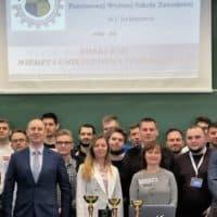 Relacja z Konkursu Wiedzy i Umiejętności Technicznych w Państwowej Wyższej Szkole Zawodowej w Ciechanowie.