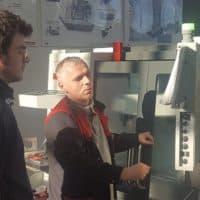 Szkolenie dla uczniów w zakresie obsługi i programowania obrabiarek CNC w Kłobucku zakończone!